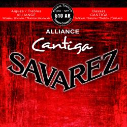 Struny do klasyka SAVAREZ Cantiga 510 AR
