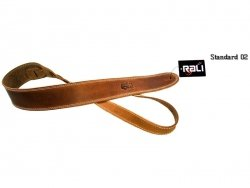 Pasek skórzany RALI Standard 02 (jasny brąz)