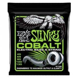 Struny do basu 5s ERNIE BALL 2736 Cobalt (45-130)