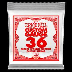 Pojedyncza struna ERNIE BALL Nickel Slinky 036w