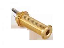 Cylindryczne gniazdo jack stereo MEC 50100 (GD)