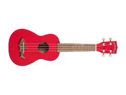 Ukulele MAKALA Sharks by KALA Soprano (RED)