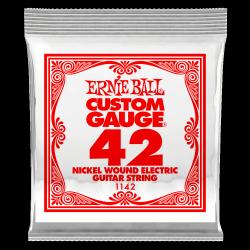 Pojedyncza struna ERNIE BALL Nickel Slinky 042w