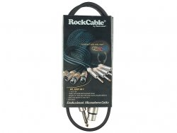 Kabel mikrofonowy RockCable 1m RCL 30381 D6 F