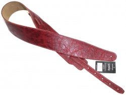 Pasek skórzany RALI Classic 06 07 (czerwony)