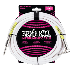 Kabel gitarowy ERNIE BALL 6047 (6,09m)
