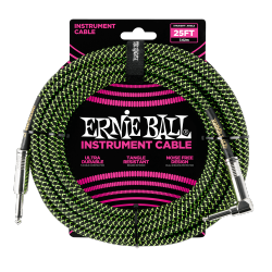 Kabel gitarowy ERNIE BALL 6066 (7,62m)