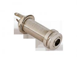Cylindryczne gniazdo jack stereo MEC 50101 (CR)