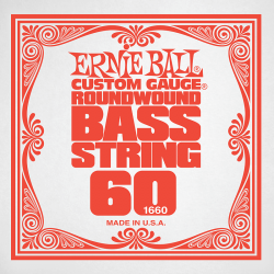 Struna do basu ERNIE BALL Slinky Nickel 060w