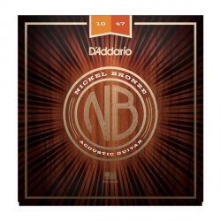 Struny D'ADDARIO Nickel Bronze NB1047 (10-47)