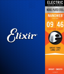 Struny ELIXIR NanoWeb Nickel Plated (9-46)