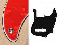 Pickguard BOSTON 62 J.Bass 3 warstwowy (PR)