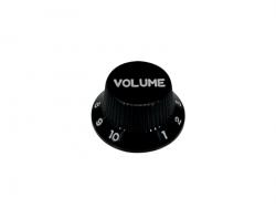 Gałka - typ Strat BOSTON KB-240-V (volume, czarna)