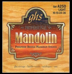 Struny do mandoliny GHS Phosphor Bronze (10-36)