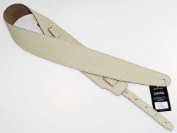 Pasek skórzany RALI Classic 04 01 (kremowy)