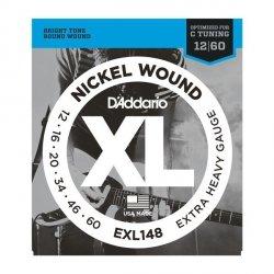 Struny D'ADDARIO XL Nickel Wound EXL148 (12-60)