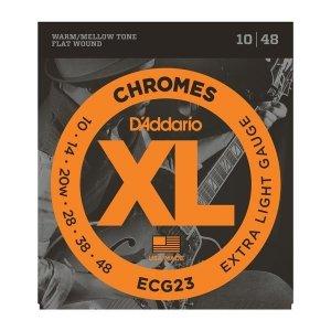 Struny D'ADDARIO Chromes Flat Wound ECG23 (10-48)