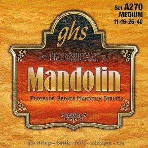 Struny do mandoliny GHS A 250 Light (10-36)
