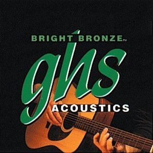 Struny do 12-ki GHS Bright Bronze 80/20 (9-42) Ext