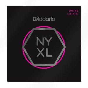 Struny D'ADDARIO NYXL Nickel Wound (09-42)