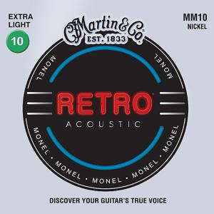 Struny do akustyka MARTIN MM10 Retro (10-47)