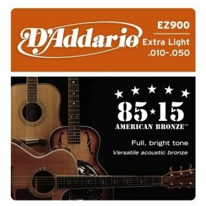 Struny D'ADDARIO 85/15 Bronze Wound EZ900 (10-50)