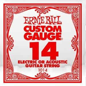 Pojedyncza struna bez owijki ERNIE BALL Slinky 014