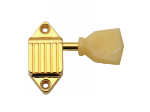 Klucze do gitary KLUSON Waffle Back (GD,3+3)