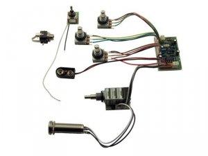 3-pasmowy equalizer MEC do basu FNA & Streamer JM M 60055 leworęczny