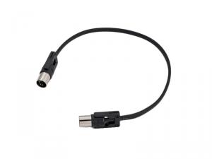 ROCKBOARD FlaX, wielokierunkowy kabel MIDI (30cm)