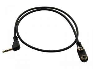 ROCKGEAR kabel miniJack/klips (50cm)