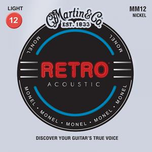 Struny do akustyka MARTIN MM12 Retro (12-54)