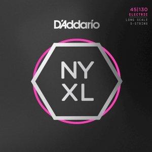 Struny D'ADDARIO Nickel Wound NYXL (45-130) 5str.
