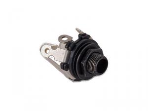 Gniazdo jack stereo MEC 50112 (BK)