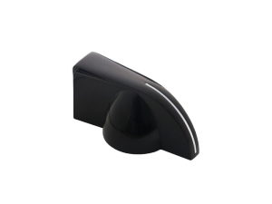 Gałka wciskana, wskaźnik HOSCO KB-150 (BK)