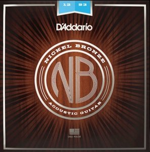 Struny D'ADDARIO Nickel Bronze NB1253 (12-53)