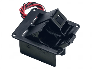 Pudełko na 2 baterie 9V GOTOH BB-04W