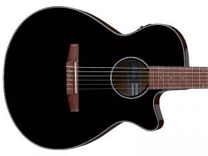 Gitara elektro-klasyczna IBANEZ AEG50N-BKH