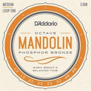 Struny do mandoliny D'ADDARIO EJ80 Octave (12-46)