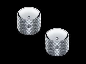Gałki metalowe na śrubkę SCHALLER Dome (CR)
