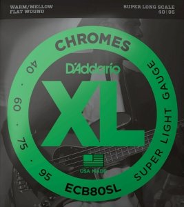 Struny D'ADDARIO Chromes ECB80SL (40-95)