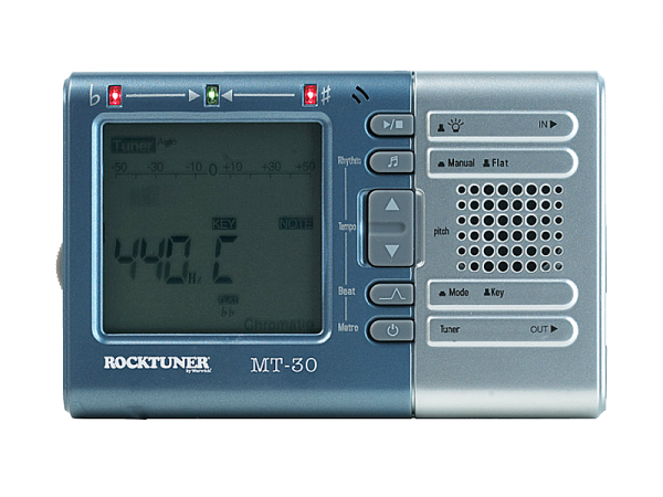 Tuner chromatyczny z metronomem ROCKTUNER MT30