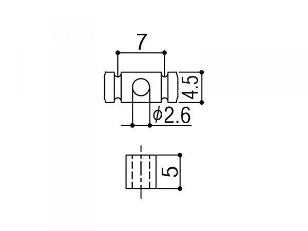 Docisk strun GOTOH RG30 (BK)