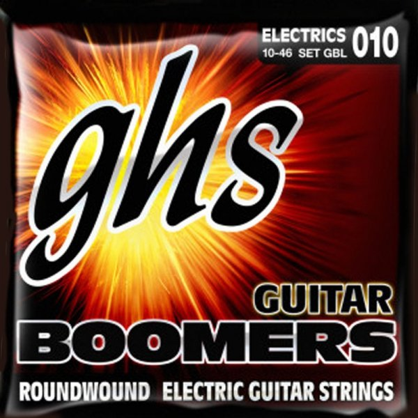 Struny GHS Boomers Roundwound (10-46)