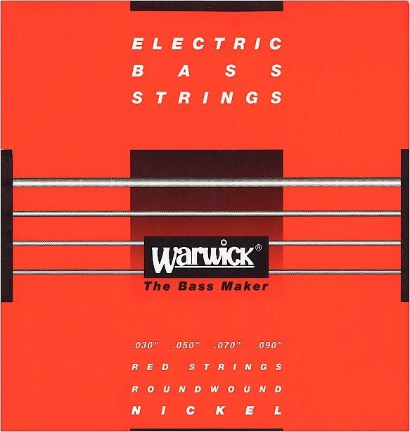 Struny WARWICK 46220 (30-90) Nickel Plated Steel