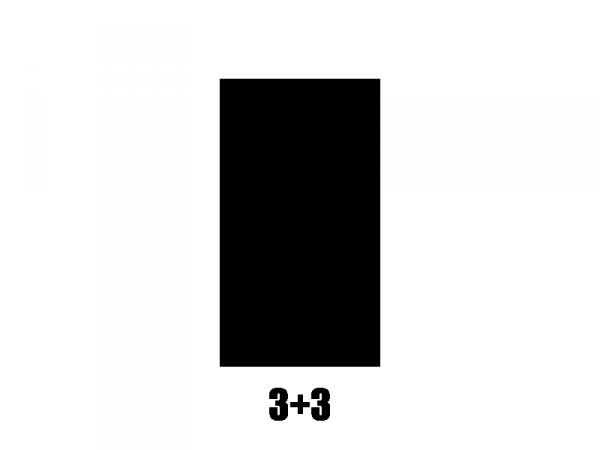 Klucze do gitary GROVER  STA-TITE V97 (CR, 3+3)
