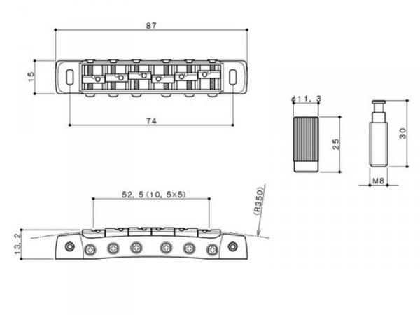 Mostek blokowany GOTOH 510FB (BK)