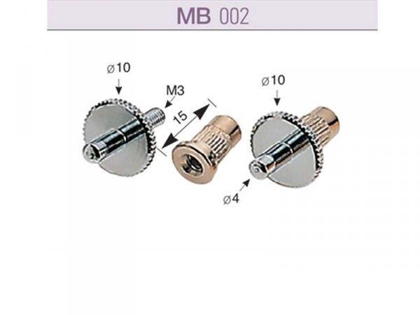 Śruby mocowania mostków SUNG IL MB002 (złoty)