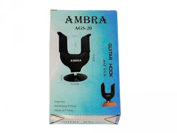 Wieszak gitarowy z blokadą AMBRA AGS-20