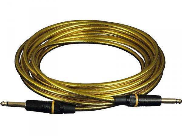 Kabel RockCable 3m RCL 30203 D6 (złoty)